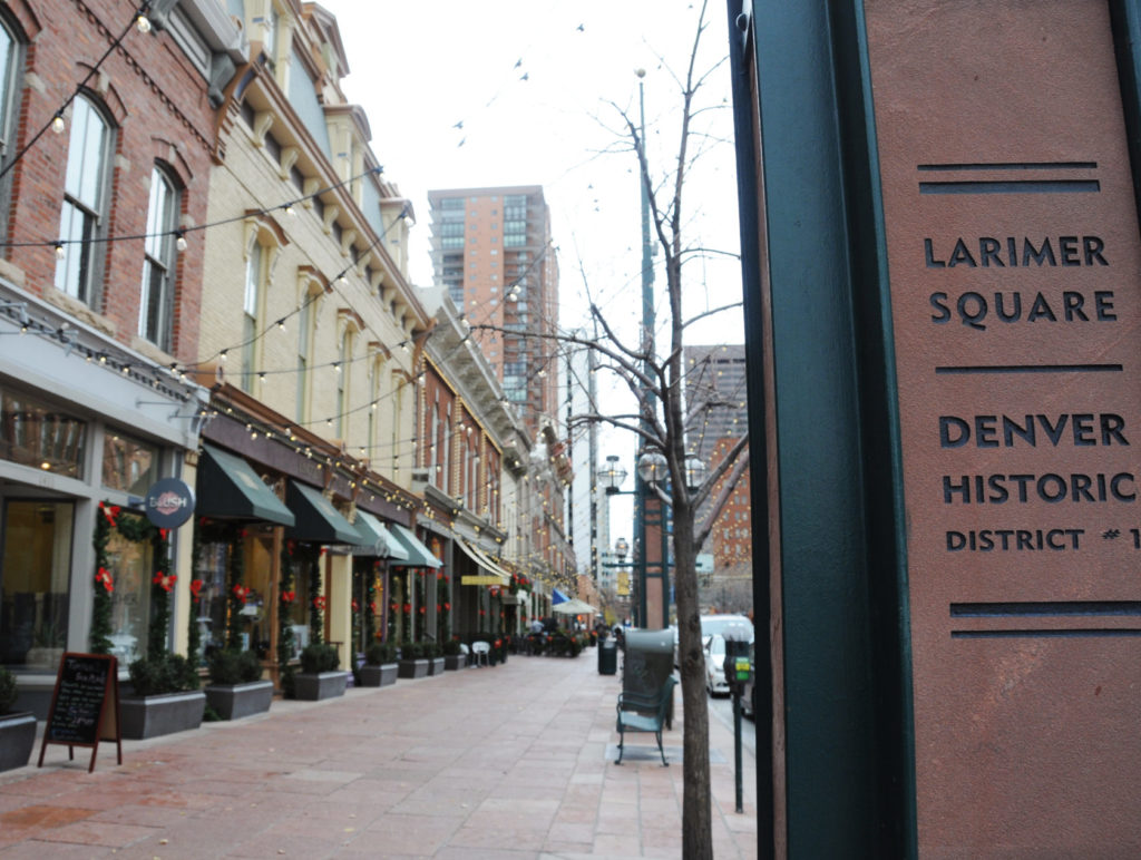 Larimer Square First Historic District in Denver (1971), Image by Shannon Schaefer