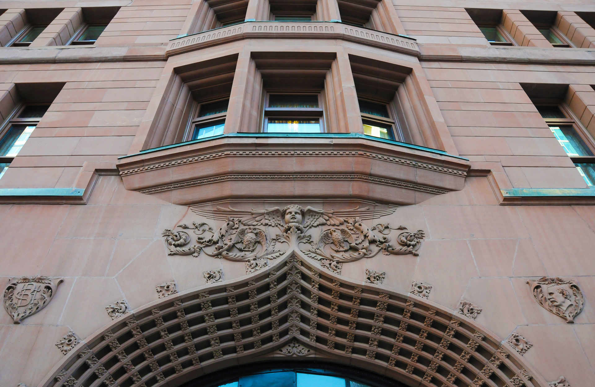 Historic Brown Palace Exterior Detail