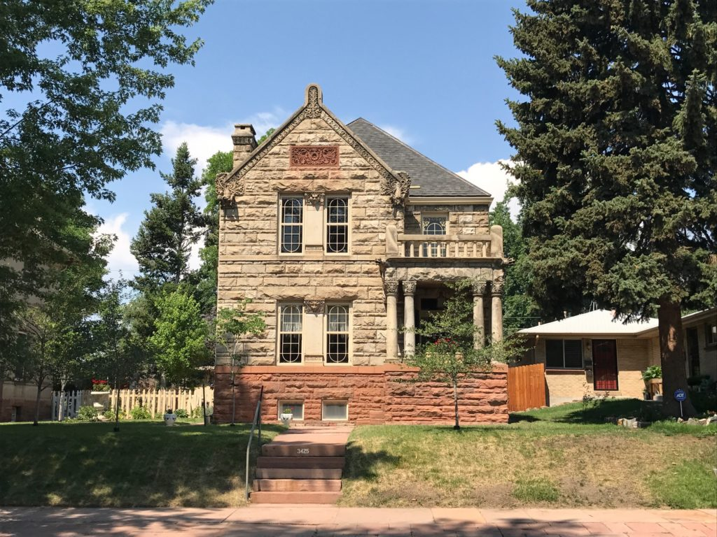 A home that is a part of the proposed Packard's Hill Historic District.