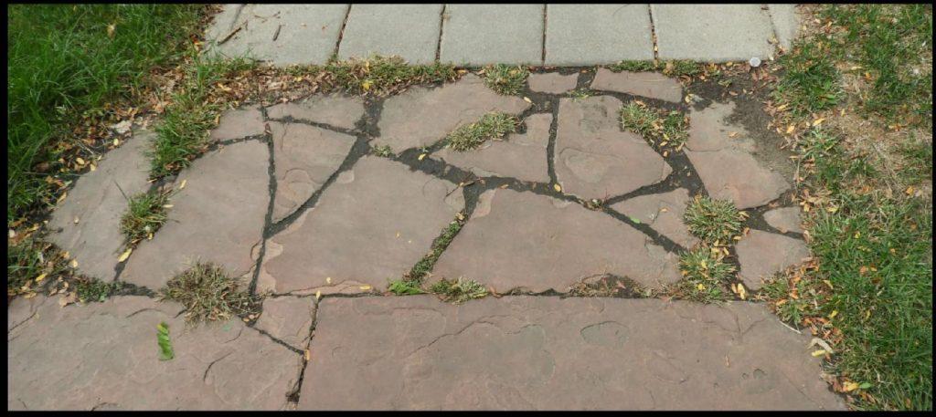 Flagstone Sidewalk Repair Resources - Historic Denver